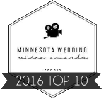 Minnesota Wedding Video Awards 2016